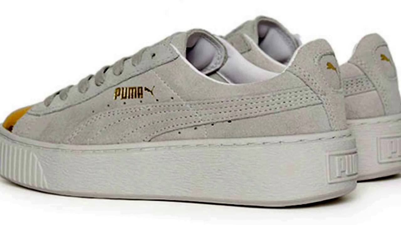puma basket platform vs