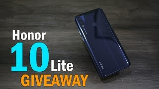 Honor 10 Lite Midnight Black, unboxing and Giveaway!