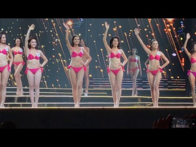 Hoa hậu hoàn vũ Việt Nam 2017 - Miss Universe Vietnam 2017 (Phần thi áo tắm)