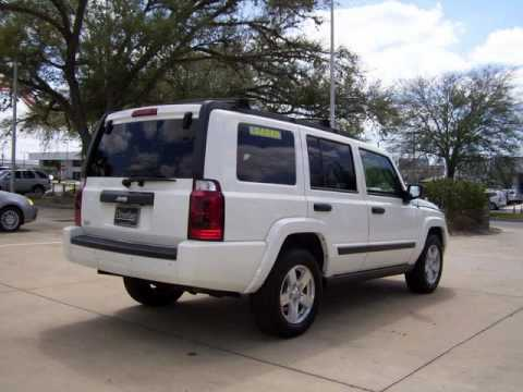 Sharp 2006 Jeep Commander with 27k miles, 3 roofs, DVD, Leather & More in Ocala Florida