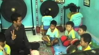 anak nusantara latihan gong beleganjur