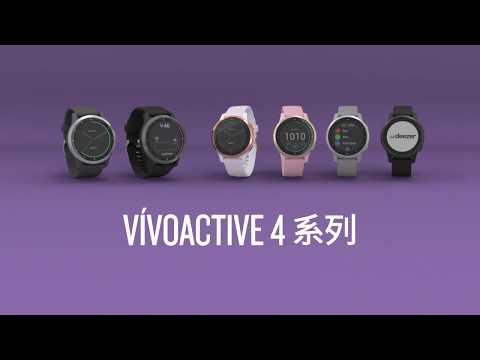 2019現貨免運含稅@竹北旗艦館@GARMIN Vivoactive 4 隕石灰45mm GPS 智慧腕錶