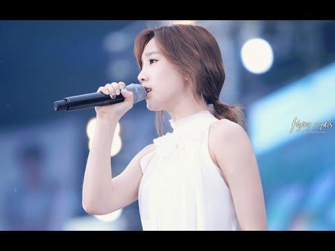 SNSD Taeyeon Best Live High Notes and Vocal Runs (소녀시대 태연 - 고음모음