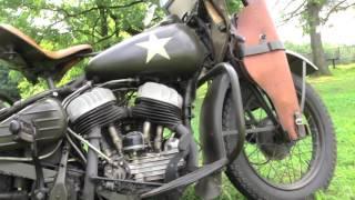 рассказ Harley Davidson WLA 42 Военный