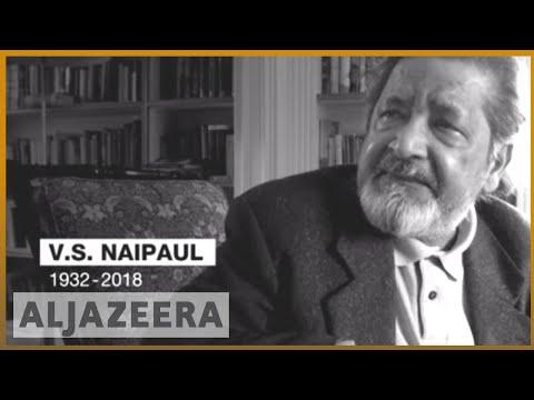 🇬🇧 VS Naipaul, Nobel Prize-winning author, dies at 85   Al Jazeera English