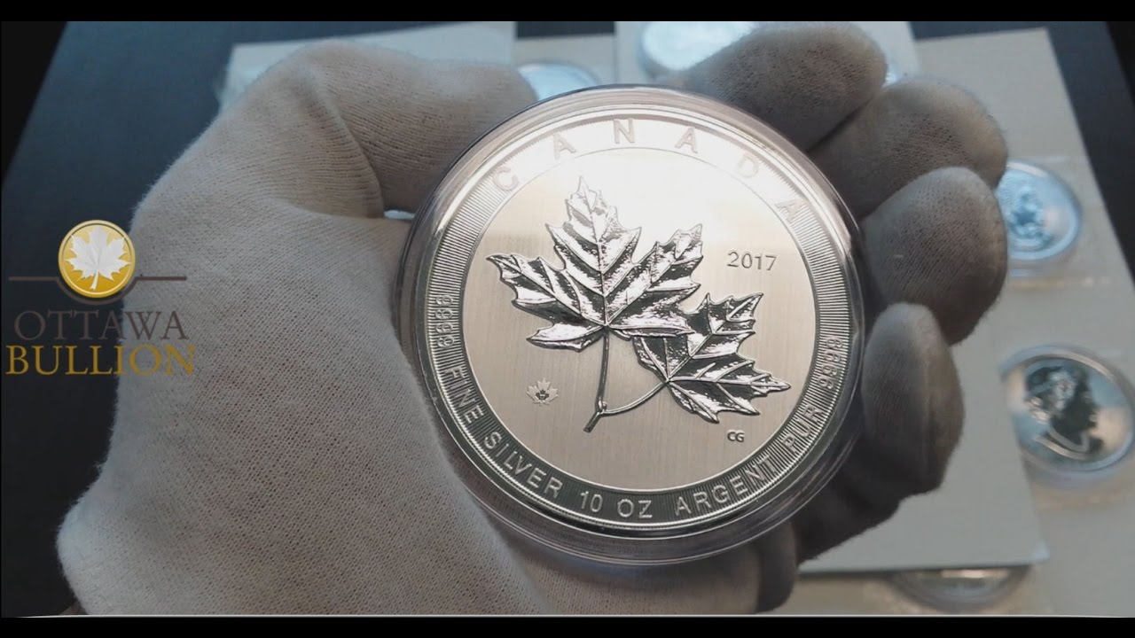 2017 10 Oz Magnificent Maple Silver Coin Royal Canadian