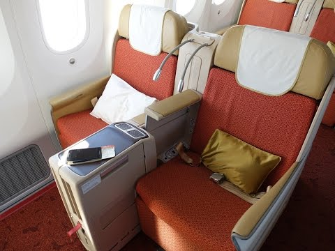 Air India 787 Executive Class. Sydney to Delhi एयर इंडिया के