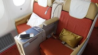 Air India 787 Executive Class. Sydney to Delhi एयर इंडिया के बिजनेस क्लास