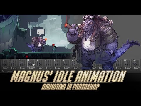 creating-an-idle-animation-in-photoshop-with-tips---magnus'-idle-animation