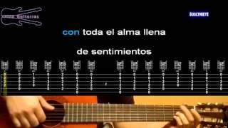 Nuestro juramento - Julio Jaramillo - Karaoke guitarra