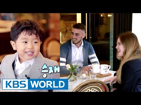 Seungjae can speak fluently with a foreigner? [The Return of Superman / 2017.05.14]