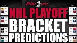 NHL Playoff Bracket Predictions 2018