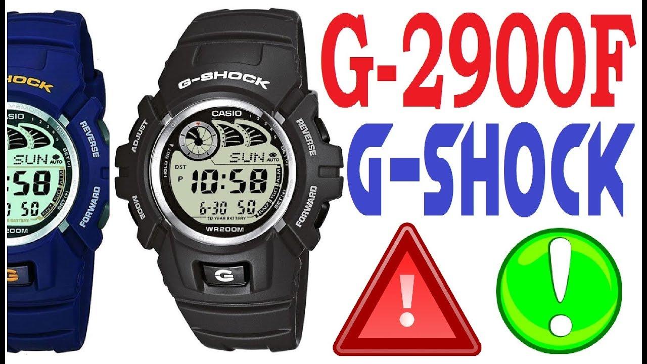 Download Casio G-Shock G-2900F manual 2548