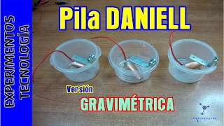 Pila DANIELL gravimétrica