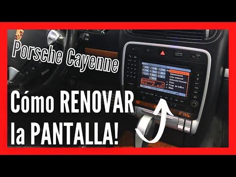 RENOVAR LA PANTALLA DE PORSCHE CAYENNE 2002-2010!! 👌💡