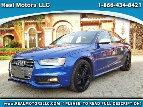 2015 audi s4 premium plus 3 0 supercharged with 11k miles in clearwater fl tampa bay youtube. Black Bedroom Furniture Sets. Home Design Ideas
