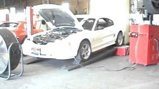 98 Cobra dyno pull-Performance Solutions- 466 rwhp!
