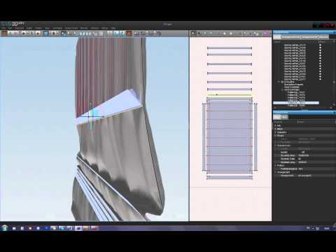Modeling Roman blinds in CLO3d