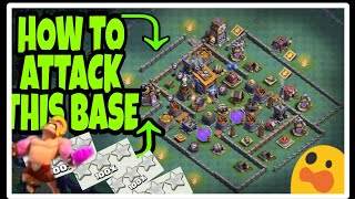 Smashed Down bh8 most popular base😲/builder base/Clash of clans/By Dark Gamming