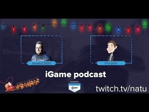"""iGame Podcast with natu S01E05: Tomi """"lurppis"""" Kovanen"""