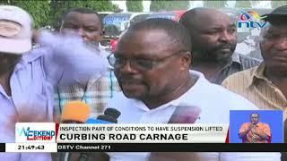 Curbing road carnage: NTSA inspects fleet of buses, drivers in Nairobi and Mombasa