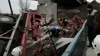 Обрушение моста в Терновском районе