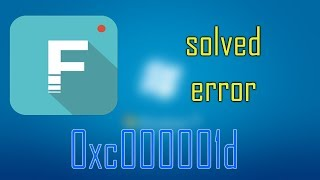 How to solve/fix Filmora error 0xc000001d in 1 minute