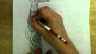 Drawing SSJ4 Gohan