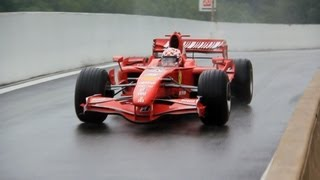 Ferrari F1 F2007 - V8 SCREAMING Engine SOUNDS!