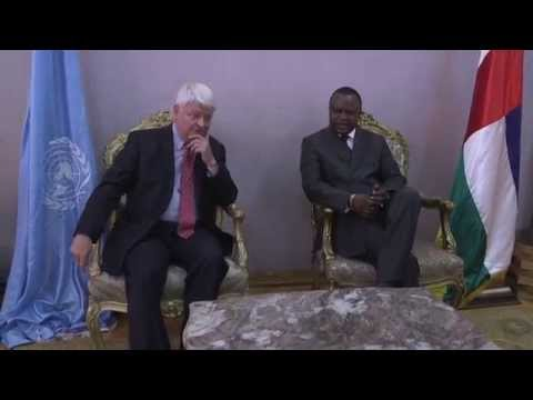 USG Herve Ladsous meet CAR Prime Minister and National Council Speaker