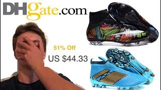 Buying Fake Soccer Cleats on DHgate.com