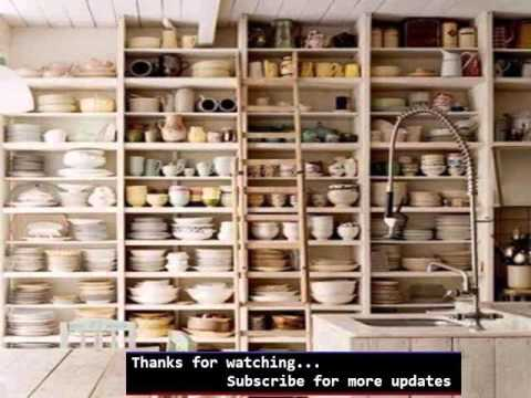 Wall Shelves Picture Ideas Diy Kitchen Shelving Ideas - YouTube - kitchen shelving ideas