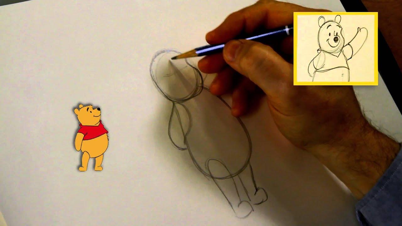 Winnie Puuh zeichnen leichtgemacht - YouTube