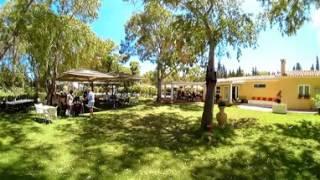 Ristobar - Camping Flumendosa di Santa Margherita a Pula, Cagliari, in Sardegna