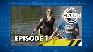 Made For The Outdoors (2017) Episode 1: Merrimack Canoe & Sanborn Paddle