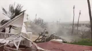 Vea los destrozos del huracán María al tocar tierra puertorriqueña