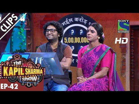 Arijit On Hot Seat - The Kapil Sharma Show - Episode 42 - 11th September 2016