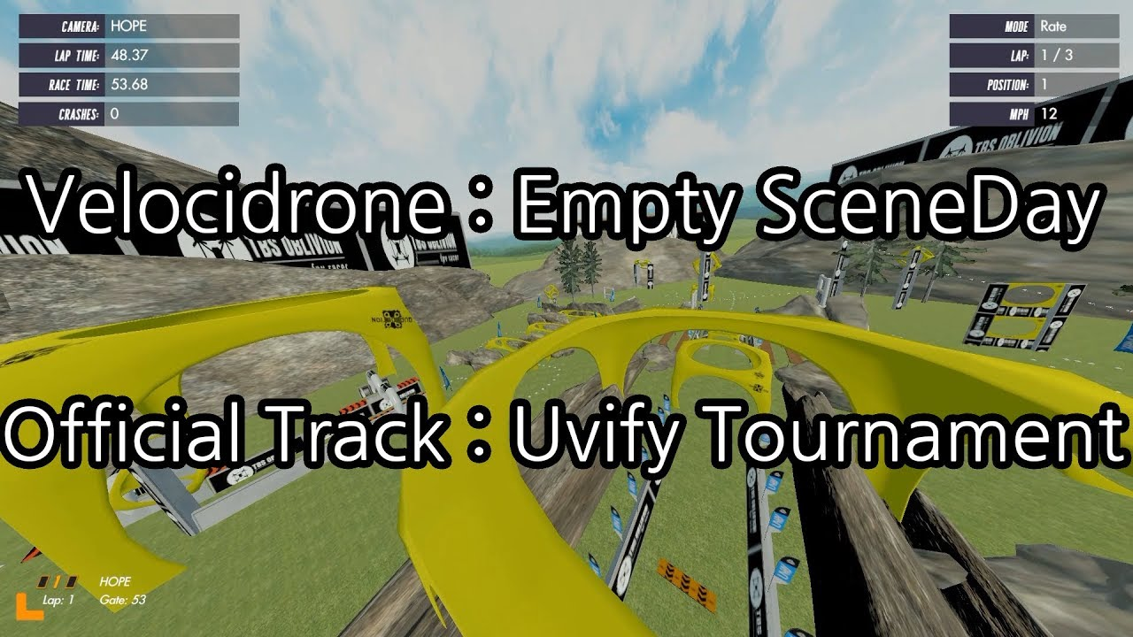 [Velocidrone] Official Track: Uvify Tournament Track