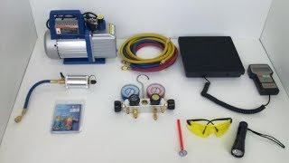 Оборудование для заправки кондиционеров, часть 2, посылка.