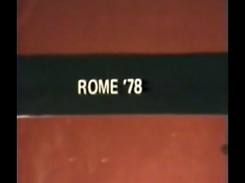 Rome '78 [James Nares, 1978] New York No Wave