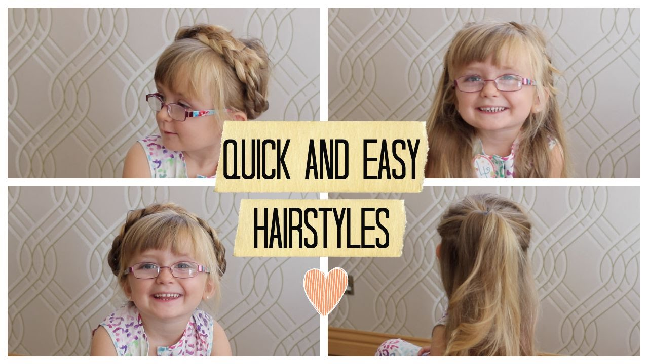 quick, easy, simple hairstyles for long hair   beauty's big sister