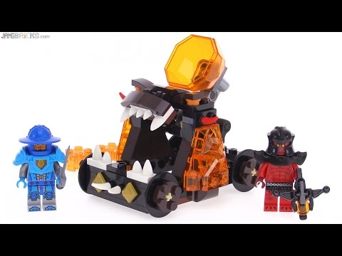LEGO Nexo Knights Chaos Catapult review! 70311 - YouTube