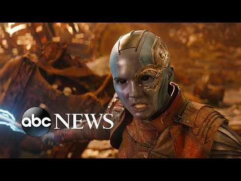 'Avengers: Infinity War' star Karen Gillan on her rise to stardom