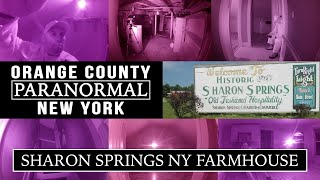 Sharon Springs NY Farmhouse Investigation...