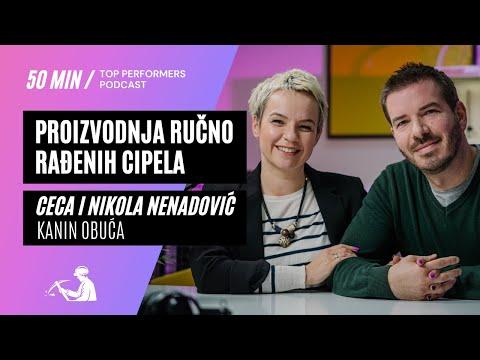 Proizvodnja ručno rađenih cipela - Kanin obuća, Ceca i Nikola Nenadović - Top Performers podcast E05