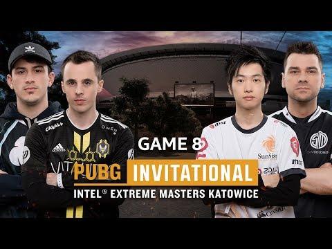 IEM PUBG Invitational Katowice 2018 Game 8