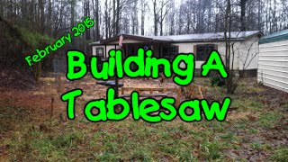 Building A Tablesaw