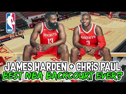 Are James Harden and Chris Paul the BEST BACKCOURT in NBA History?