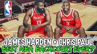 4a83eadd0e8f Are James Harden and Chris Paul the BEST BACKCOURT in NBA History  - eDayfm  ~ Match videos