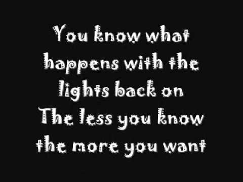 Jimmy Eat World-Just Tonight lyrics